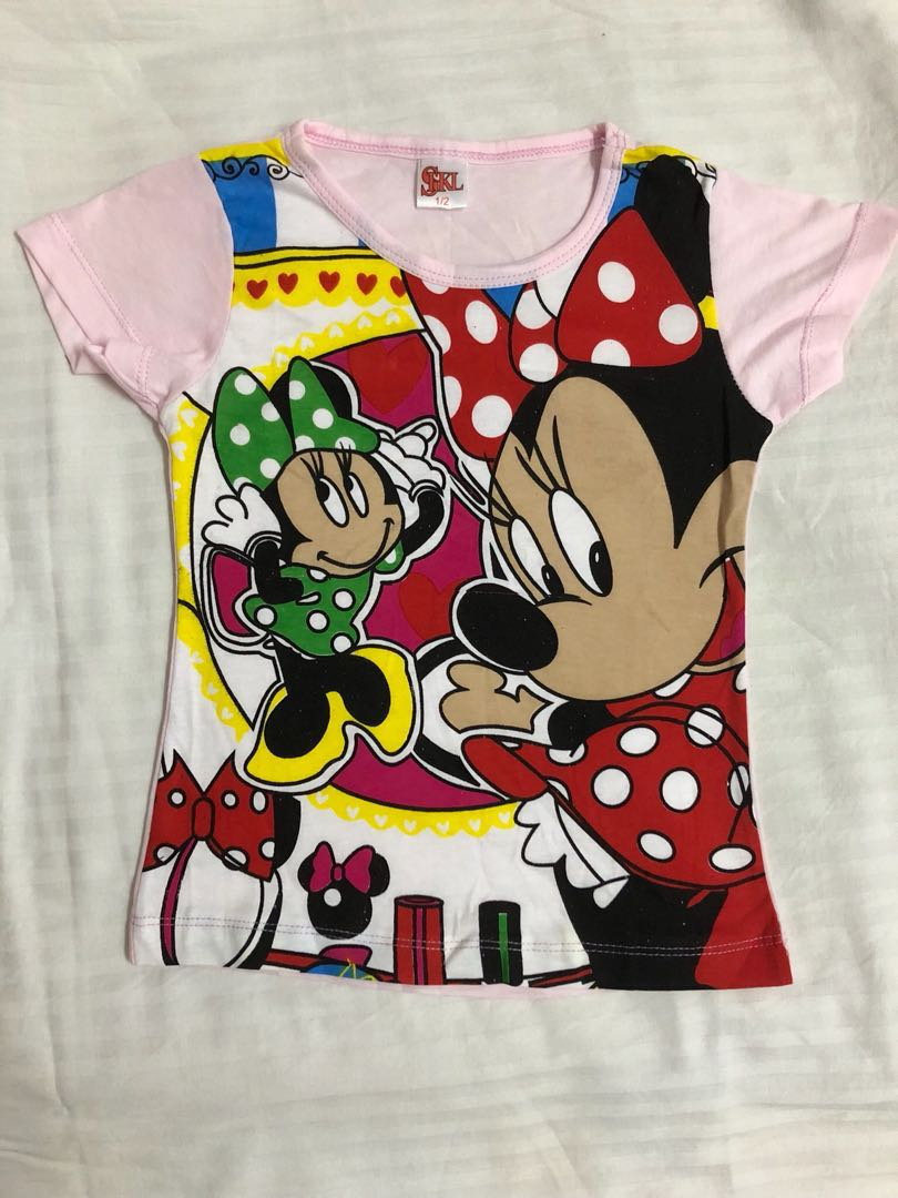 3196d4f3d Disney Minnie Mouse Pajamas Short Sleeve