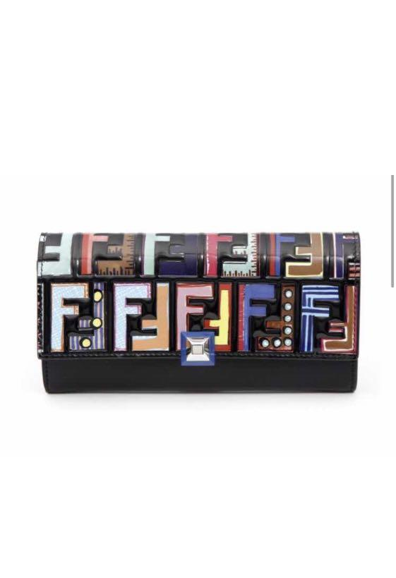FENDI wallet 100% New
