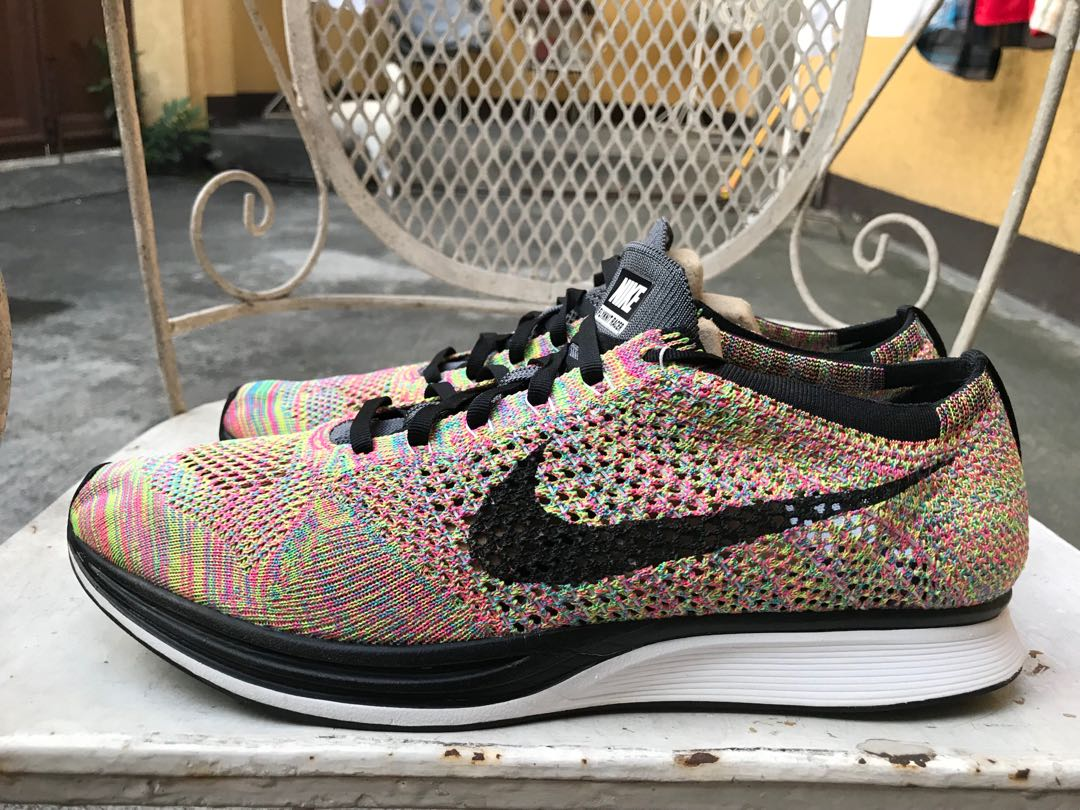 aff7a78fe71a7 For Sale Nike Flyknit Racer Multicolor 3.0