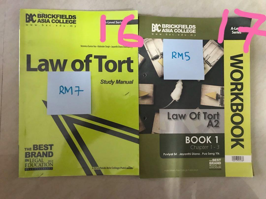 [GCE A Level] English Legal System, Contract Law, Tort Law (PLEASE READ DESCRIPTION FOR FURTHER DETAILS)