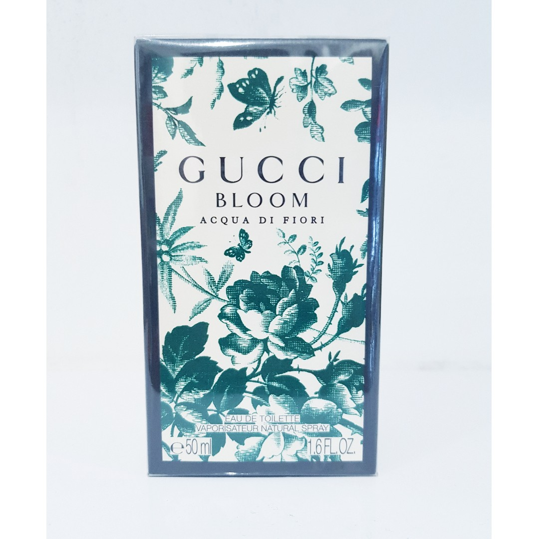 9728124f4 GUCCI BLOOM ACQUA DI FIORI EDT 50ML, Health & Beauty, Perfumes ...