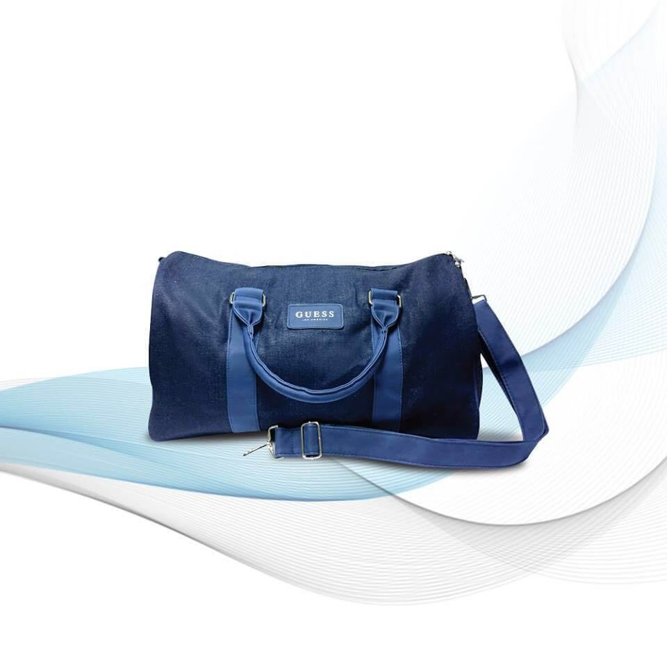 Guess denim duffle bag 70fd2f172a353