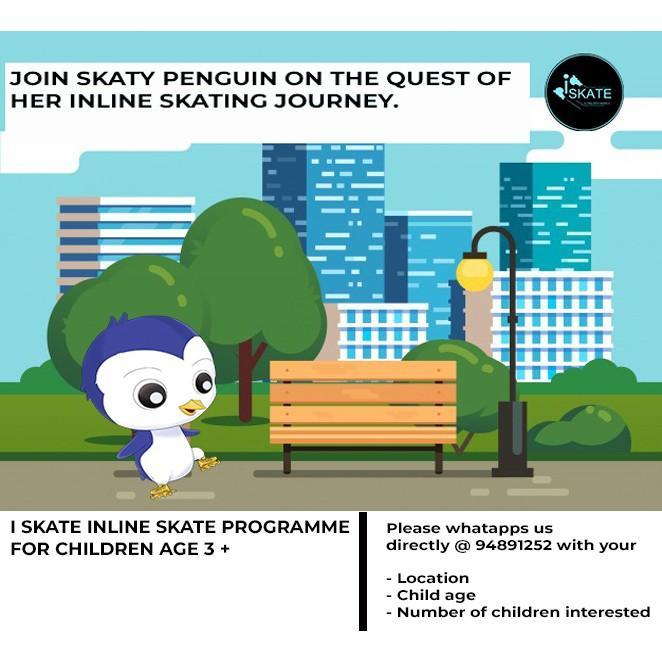 I SKATE INLINE SKATING LESSON FOR KIDS