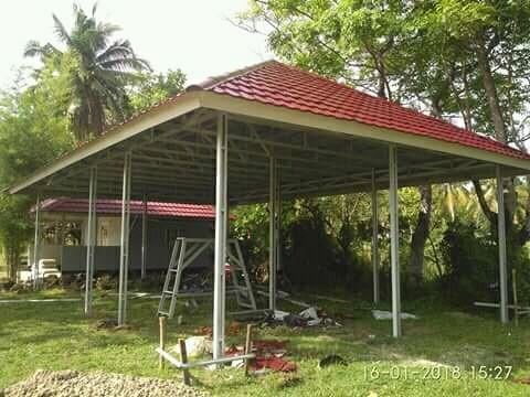Jasa Pemasangan Rangka Atap Baja Ringan Dan Kanopi Services Home