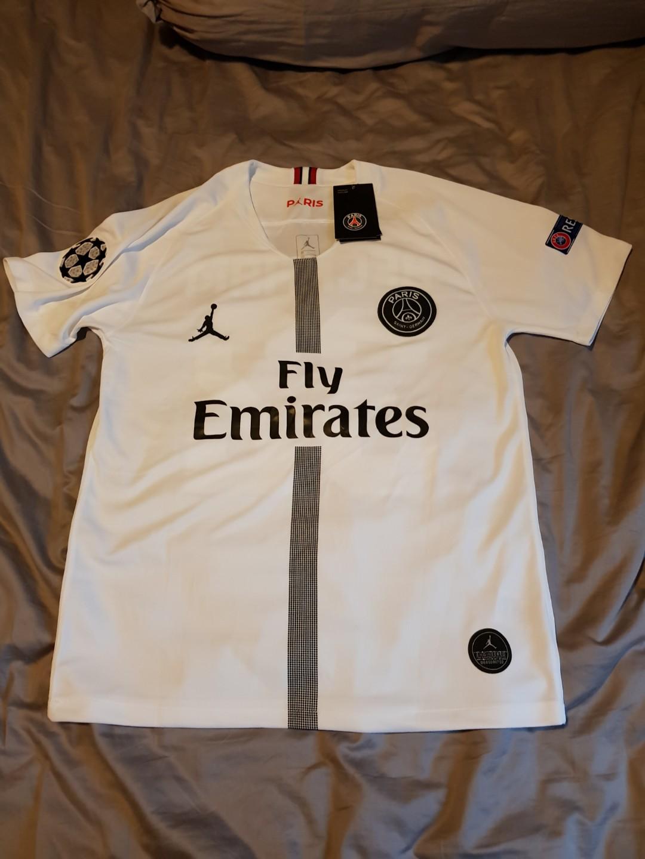 cf7e63626d5 Jordan X Paris Saint-Germain 18/19 Champions League Away Kit, Sports ...