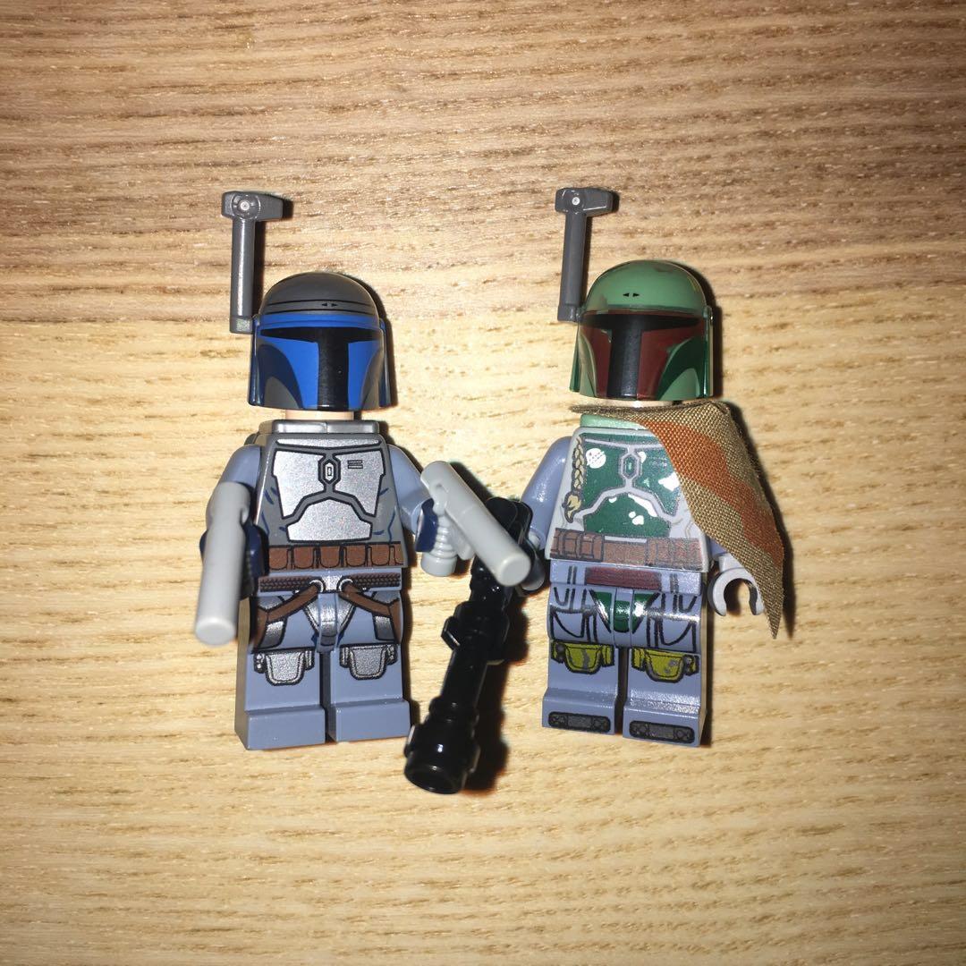 Lego Star Wars Lego Boba Fett Lego Jango Fett Toys Games