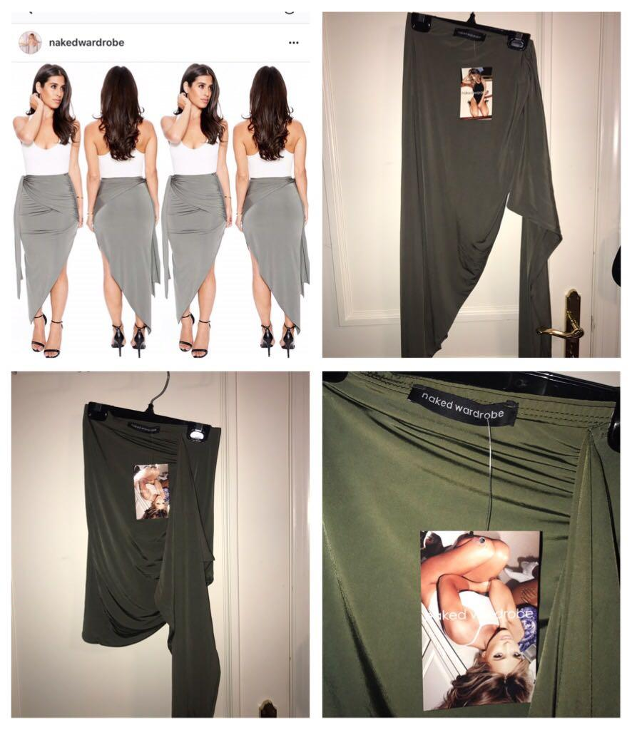 Naked Wardrobe Skirts - Size S, Short & Long Available