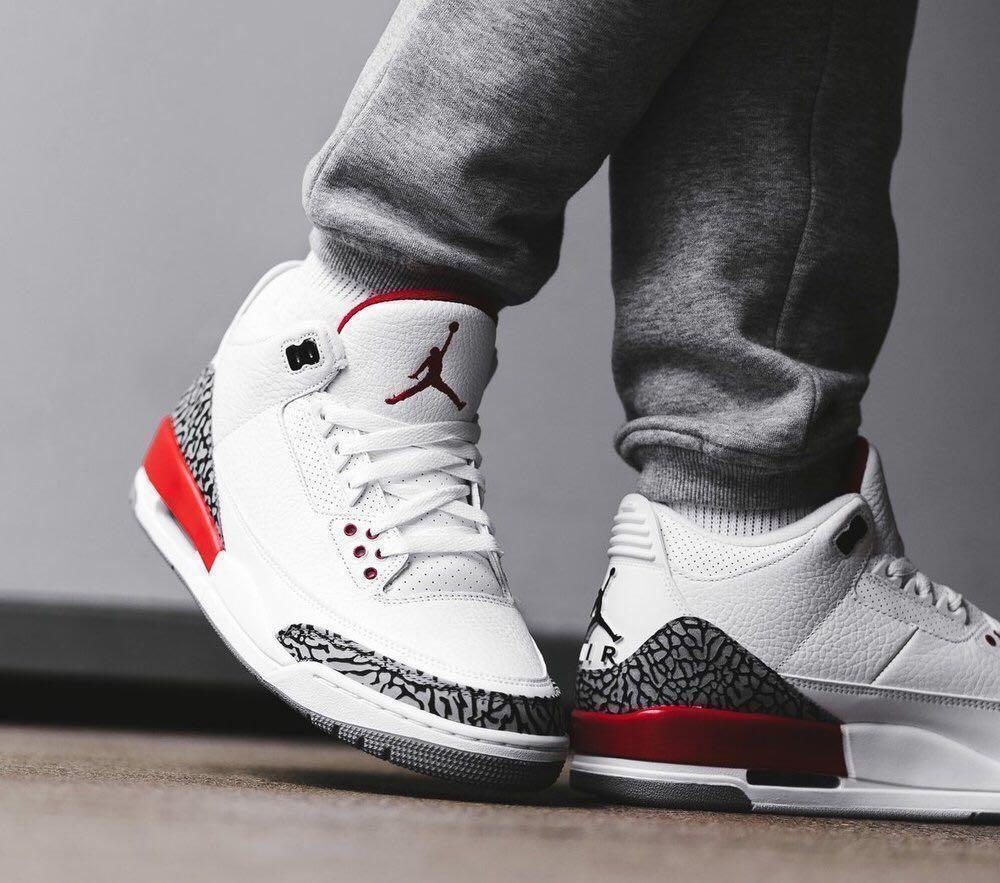 Nike Air Jordan 3 Katrina US 8, Men's