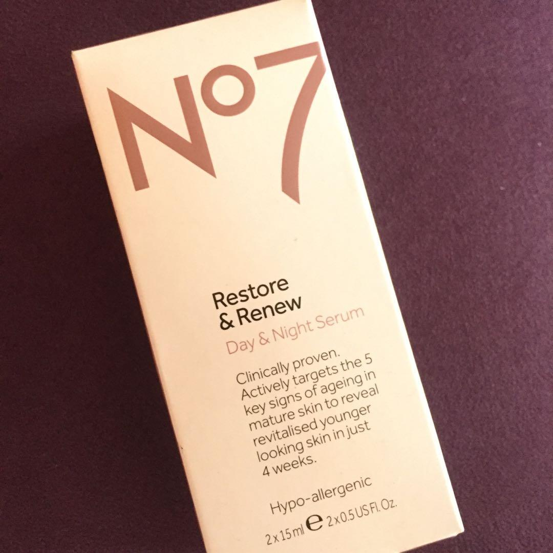 No. 7 Restore and Renew Day & Night Serum