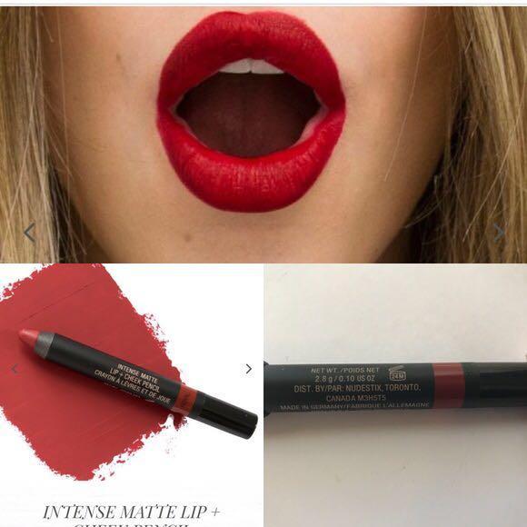Nudestix Intense Matte Lip + Cheek Pencil in ROYAL