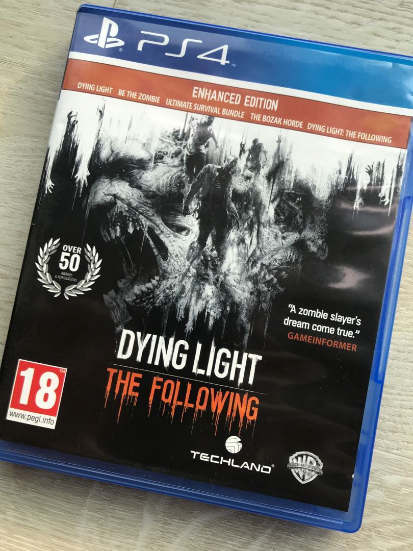 PS4 Dying Light The Following (Used)