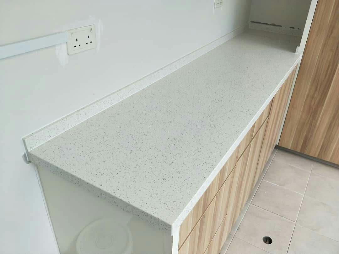 Quartz kitchen table top, island countertop, vanity top ...