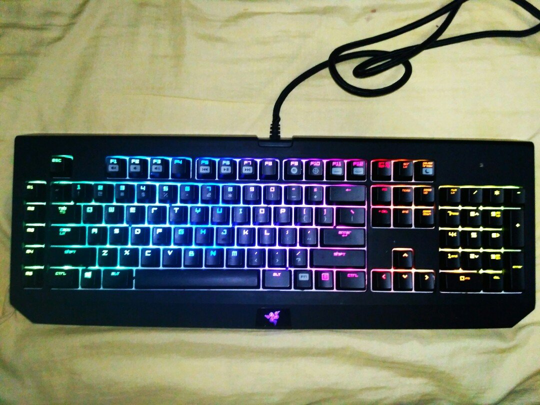 0bf8401c428 Razer Blackwidow Ultimate Chroma, Toys & Games, Video Gaming, Gaming ...