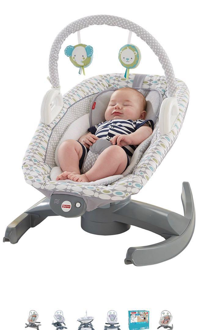 Rocker & Glider - Fisher price 4 in 1 Rock n Glide soother