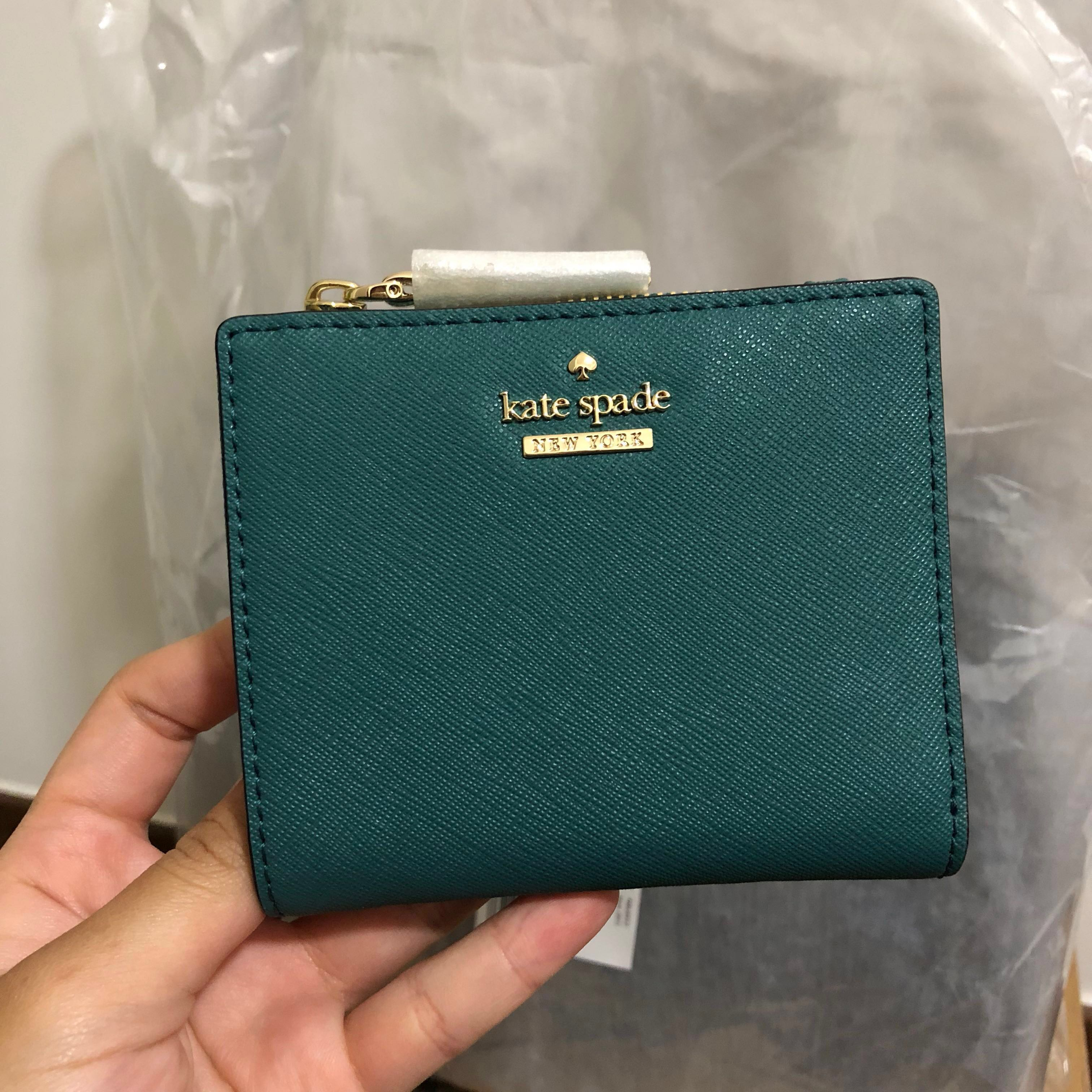a4e4f2c7a7d48 SOLD  Kate Spade Cameron Street Adalyn Small Bifold Wallet Pine ...