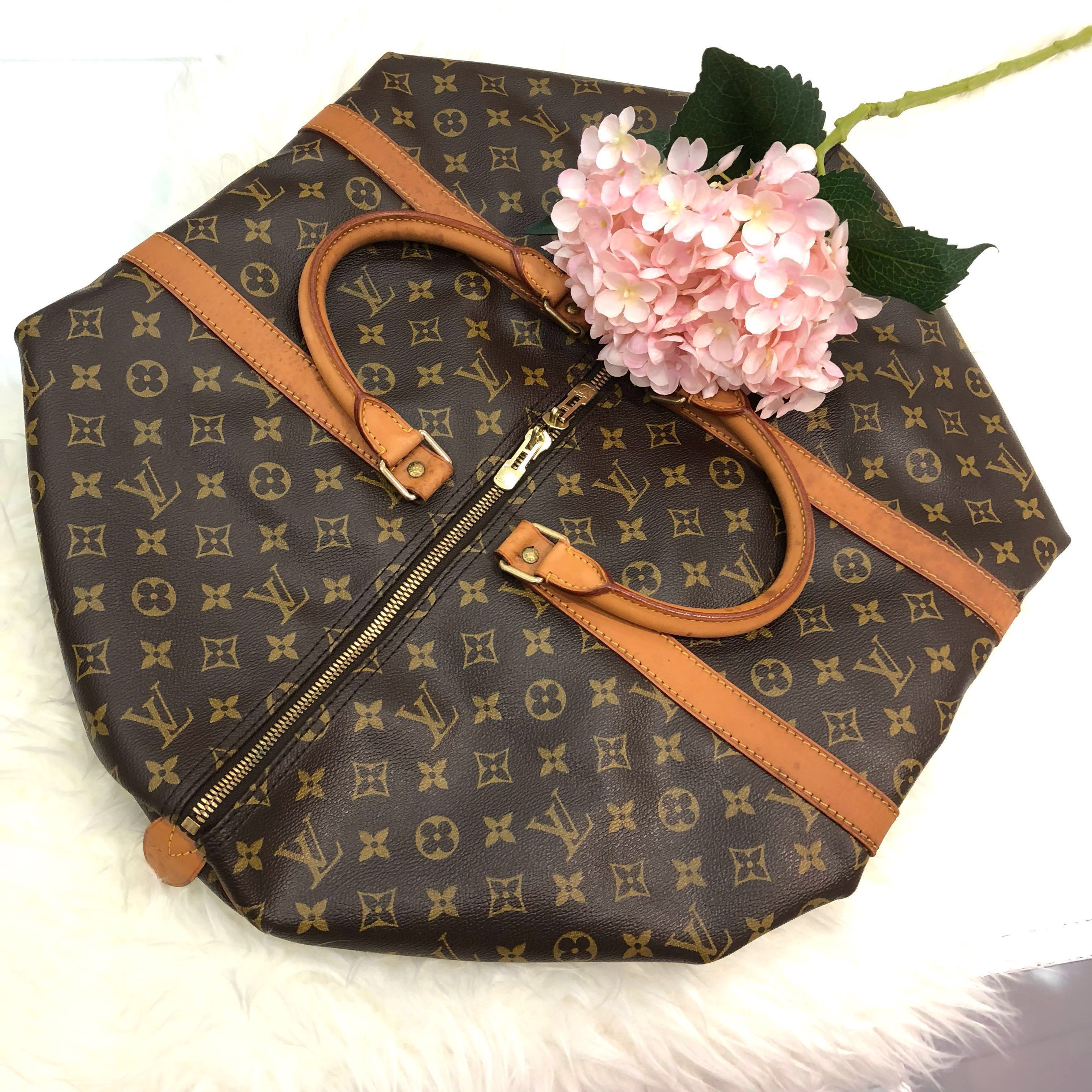 0741fe99884f ❌SOLD!❌ Louis Vuitton Keepall 55 in Monogram Canvas GHW.