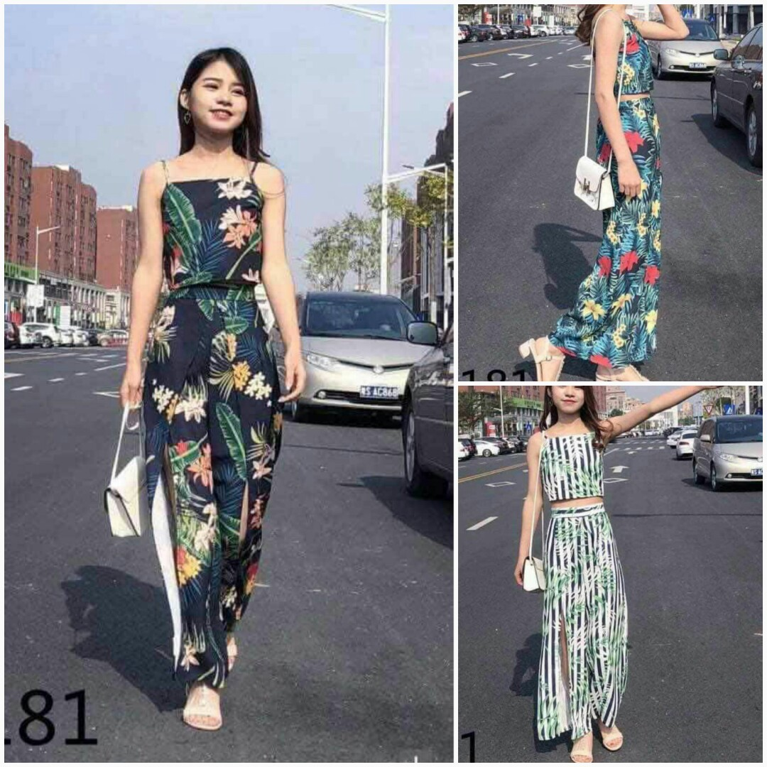 2a884c5f99d717 🍀Terno Top and pants high quality
