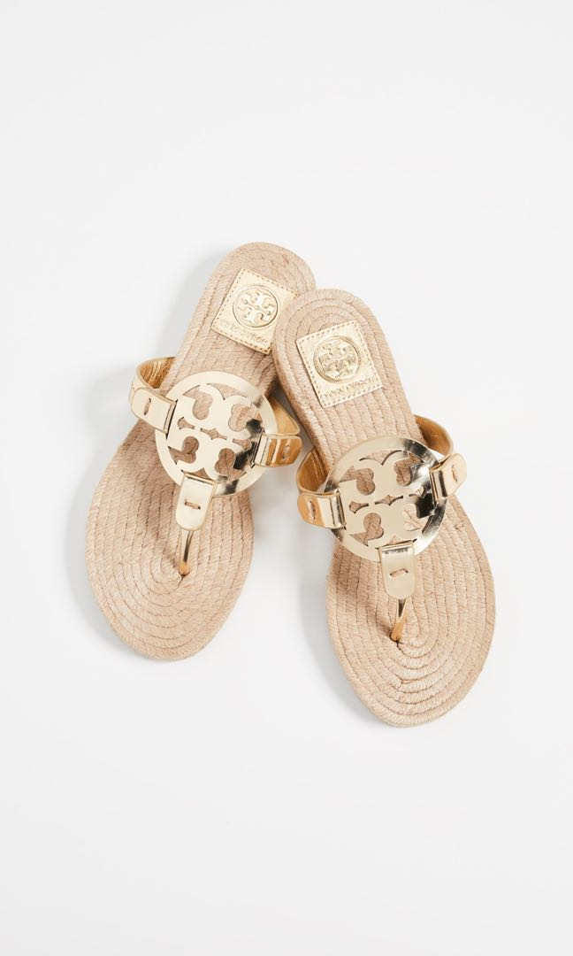 16c550d5613 Tory Burch Gold Perfect Cuoio Sandals