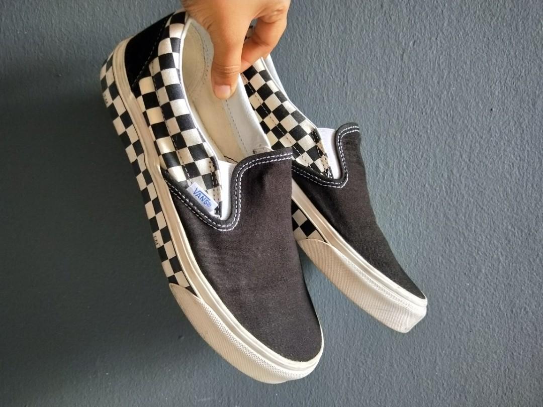 Vans Slip On SideWall Checkered, Men's