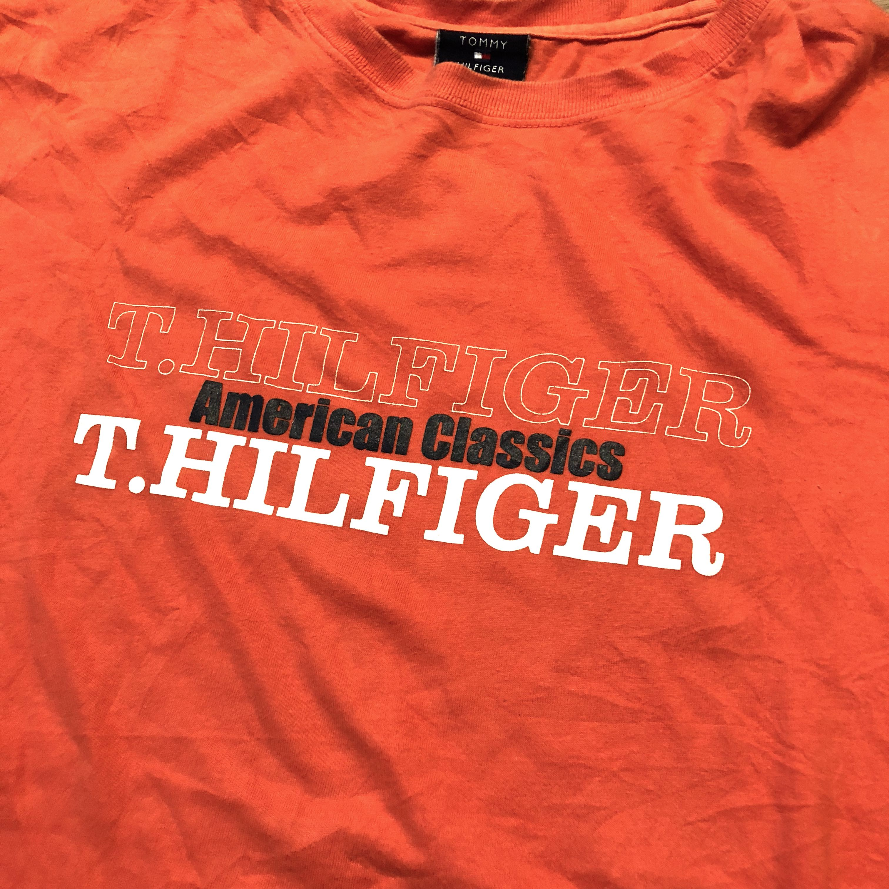 77a30ade2 Vintage Tommy Hilfiger Tshirt Size M, Men's Fashion, Clothes, Tops ...