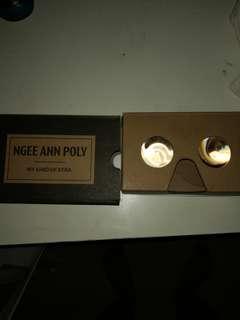 VR google cardboard Ngee ann poly