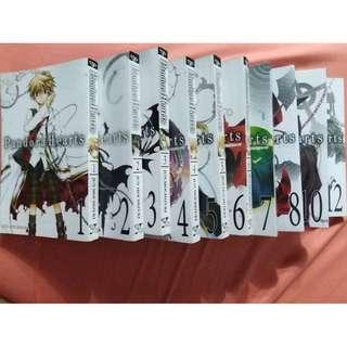 Pandora Hearts Vol. 1 - 8 & 10 & 12