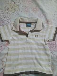 Tinderly Stripe Polo