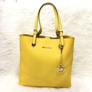 Michael Kors Yellow Tote Bag Original