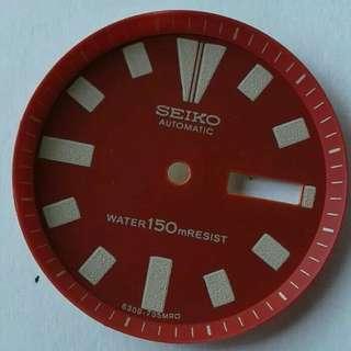 Dial Seiko diver 6309