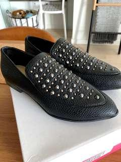 JUST FAB - Studded Loafers