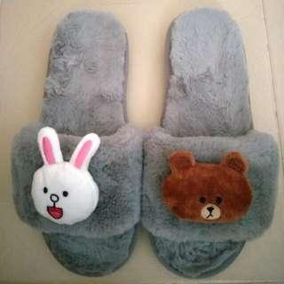 LINE Bedroom Slippers