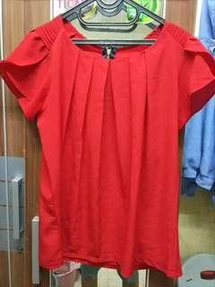 Red Blouse Cantik
