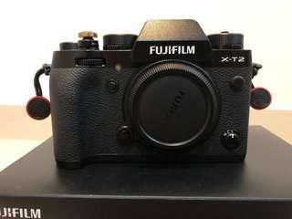 Fujifilm X-T2 with Battery Grip