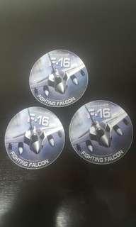 Lockheed Martin F-16 Stickers #EVERYTHING18