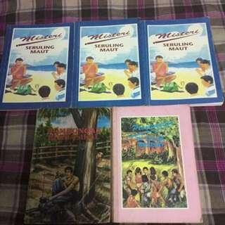 Buku misteri penyiasatan remaja kanak-kanak POS PERCUMA.
