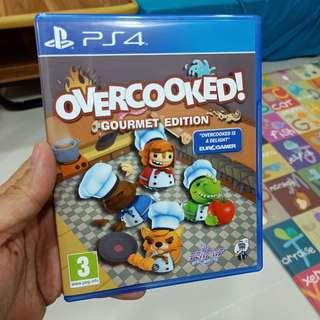 PS4 overcooked (gourmet edition)