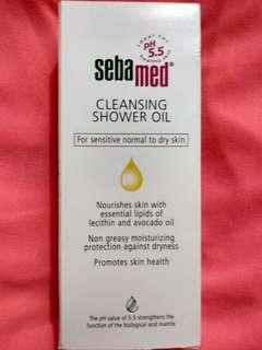 Seba med Cleansing Shower Oil 200ml (exp.: 20/5/2019)