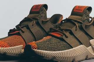 Adidas Prophere Trace Olive/Solar Red US10.5