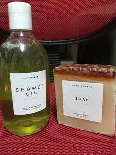Soap Chérie沐浴露及手工美容皂 (面及身體)