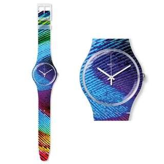⌚ON SALE: Original Swatch SUOK113 Peacobello ⌚