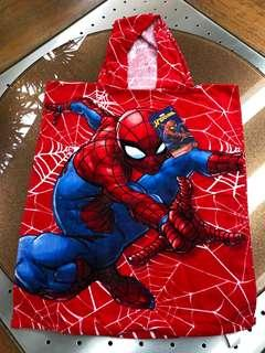 BNWT Spiderman Hooded Towel