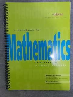 A Handbook for Mathematics Teachers