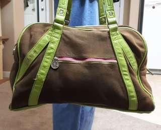 Lululemon Gym Bag! Pink and Green