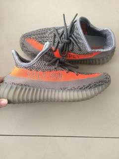 Adidas Yeezy Boost 350 orange grey