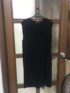 Forever 21 black shift dress
