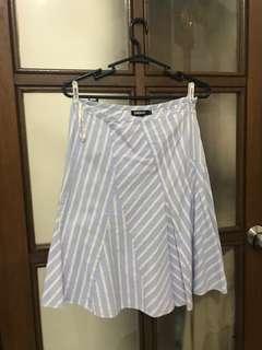 Dkny gingham skirt