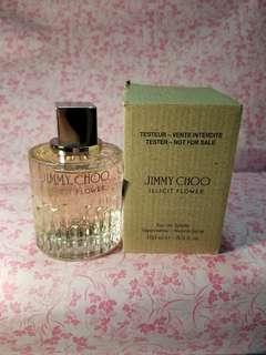 Jimmy Choo illicit flower EDT tester 100ml 女士香水