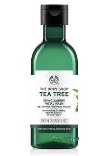 Tea Tree Face Wash from the BodyShop