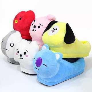 [PO] bt21 bts slippers