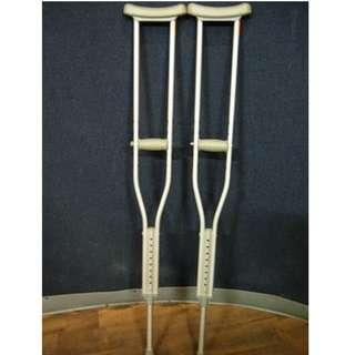 Adult Aluminum Crutches